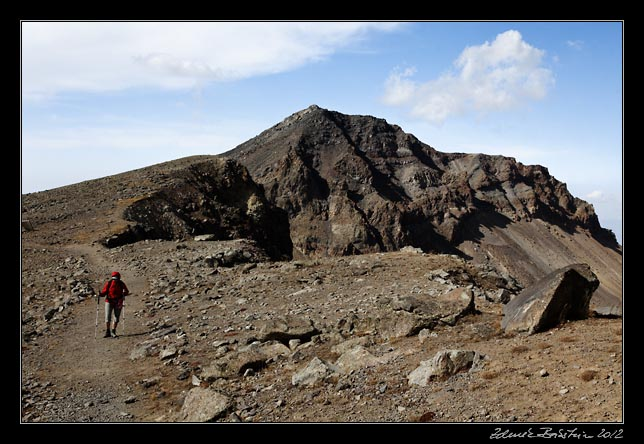 Armenia - Aragats - on the ridge