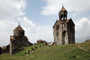 Armenia - Haghpat - S. N`shan and bell tower