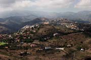 Gran Canaria - from Pico de Bandama to west