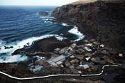 El Hierro - north coast - Pozo de las Calcosas