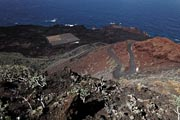 El Hierro - west coast - lava fields