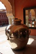 Jaipur - The silver jar in Diwan-e-khas