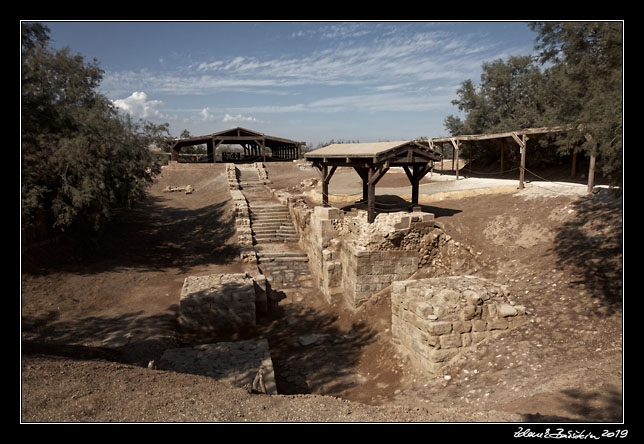 Bethany beyond Jordan - the Baptism Site