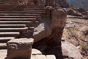 Petra - stairs to the Urn tomb