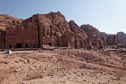 Petra - Palace tomb and Corinthian tomb