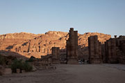 Petra - Temenos gate and Royal tombs