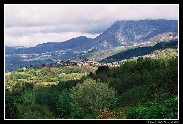 Garfagnana valley