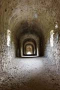 Ansignan - inside the Roman aquaduct