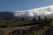 La Palma - NorthWest - clouds on Cumbre Nueva