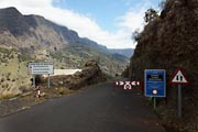 La Palma - NorthWest - Caldera Taburiente - closed