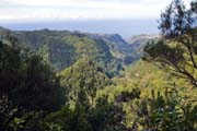 a view from Levada do Caldeirao to the north