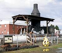 Steam Donkey, Reedsport, OR