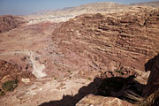 Petra - (Royal) tombs and Umm Sayhoun village