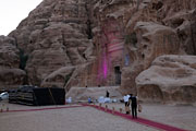 Al Bayda - Little Petra - preparations for a wedding