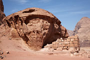 Wadi Rum - Lawrence`s house