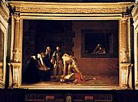 Beheading of St.John - painting by Caravaggio